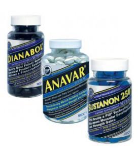 Pack Dianabol + Anavar + Sustanon 250