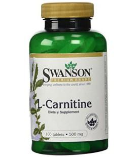 L-Carnitine 500mg 100 Tabs