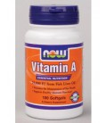 NOW Foods - Vitamin A 25,000 IU 100 softgels