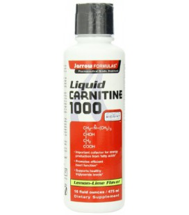 Jarrow Formulas Liquid Carnitine, favorise la fonction cardiaque efficace, 16 fl. Oz.