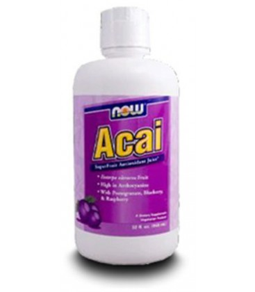 Now Foods Acai Juice Superfruit Tonic, 32 oz ( Multi-Pack)