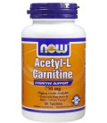 Now Foods Acetyl L-Carnitine 750mg, 90 tabs ( Multi-Pack)