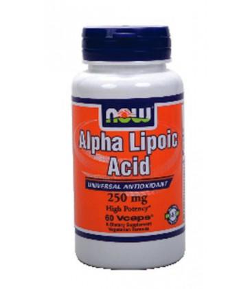 Now Foods Alpha Lipoic Acid 250 mg (60 caps) ( Multi-Pack)