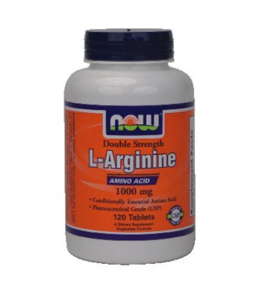 Now Foods Arginine 1000mg, 120 tabs ( Multi-Pack)