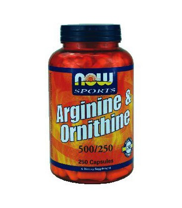 Now Foods Arginine/Ornithine, 250 caps ( Multi-Pack)