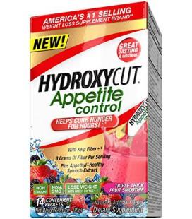 Hydroxycut contrôle de l'appétit avec Appethyl Appétit, Triple Thick Fruit Smoothie, 14 Count