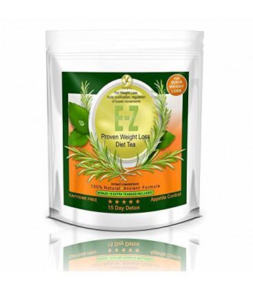 EZ Detox Diet Tea - 15 Day Detox. naturel Poids