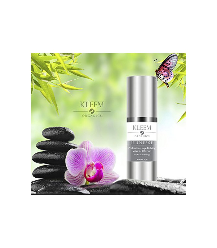 kleem organics 20 vitamine c e serum pour le visage avec. Black Bedroom Furniture Sets. Home Design Ideas