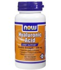NOW Foods Hyaluronic Acid 100 mg VCaps, 60 ct (Pack of 2)