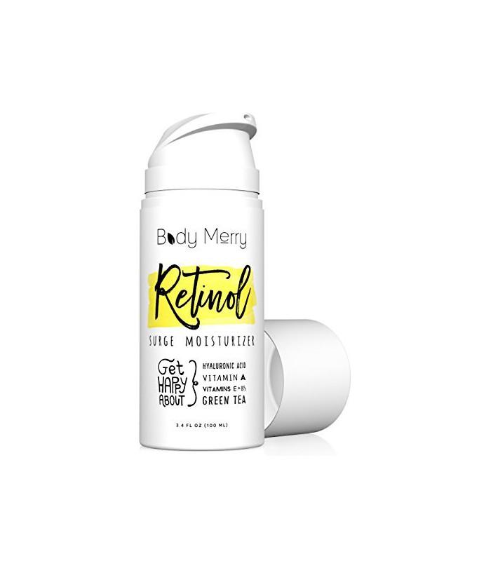 Rétinol Crème Hydratant - 3.4 OZ Fermeté Anti-Aging
