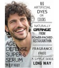 La vitamine C Serum 22% pour le visage avec 20% Acide Hyaluronique + 2,5% Rétinol + CoQ10 pour 6X avantages anti-âge - Amped ave