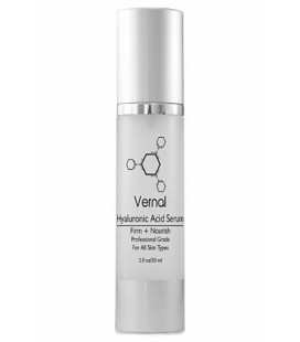 Vernal Skincare - Best Hyaluronique Sérum Acid Avec vitamine vitamine C, A, D & E, Firm instantanée, Pure, Undiluted - Rides