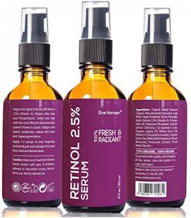 2 oz rétinol (vitamine A) - Facelift dans une bouteille 3-100% Vegan Anti Aging Serum - VOIR RÉSULTATS OU REMBOURSEMENT - Big 2