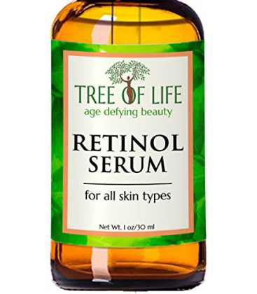 Meilleur Sérum Rétinol - 72% ORGANIQUE - Force clinique Rétinol Hydratant Anti Aging Anti Wrinkle Serum - SATISFACTION