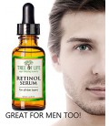 Meilleur Sérum Rétinol - 72% ORGANIQUE - Force clinique Rétinol Hydratant Anti Aging Anti Wrinkle Serum - SATISFACTION