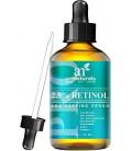Art Naturals Enhanced rétinol sérique de 2,5% avec 20% de la vitamine C et l'acide hyaluronique 1 OZ- -Meilleur Anti rides, Anti