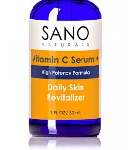 La vitamine C Sérum à l'acide hyaluronique. 20% Vit C Approuvé par Esthéticienne licence pour le meilleur anti-âge et anti-rides