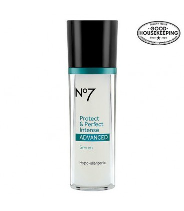Bottes No7 Protect & Perfect avancée Intense Anti Aging Serum Bottle - 1 OZ- (30 ml)