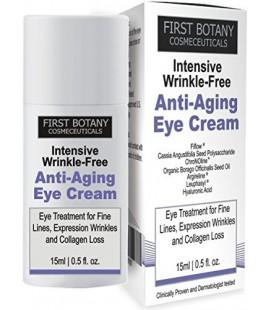 Première Botanique Cosmeceuticals RIDES INTENSIF CRÈME GRATUIT ANTI AGE EYE avec Argireline®, Fiflow® et autres puissants