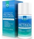 InstaNatural Rétinol Hydratant Crème - Lotion anti-âge à la vitamine C et l'acide hyaluronique - Idéal pour les rides et ridules