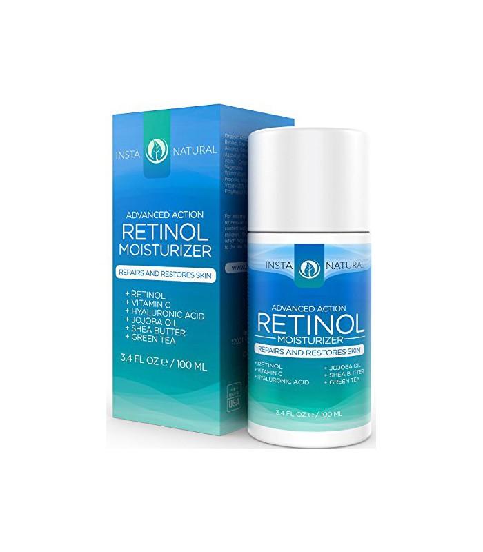 InstaNatural Rétinol Hydratant Crème - Anti-Aging