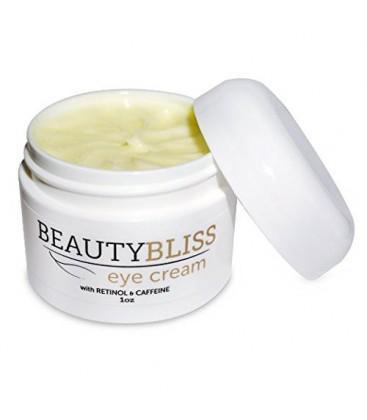 BeautyBliss - Crème Contour des Yeux - Traitement des yeux pour poches, les cernes - Anti crème vieillissement oculaire avec la