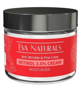 Rétinol Crème Hydratant 2,5% par Eva Naturals (2 oz) - Meilleur Rétinol Crème, Offres Anti-Aging, la défense contre les éclateme