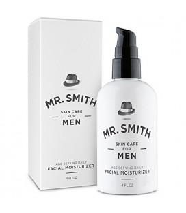 M. Smith Daily Hydratant pour homme 4 oz Anti-âge Crème de soin du visage et après-rasage apaisant Lotion All in One. Tout