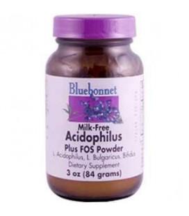 Milk-Free Acidophilus Plus FOS - 3 oz. - Powder