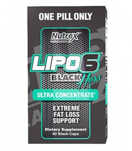 Lipo 6 Black Hers 120 capsules