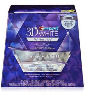 Crest 3D Luxe Whitestrips Flexfit suprême des dents Kit de blanchiment, 14 Count
