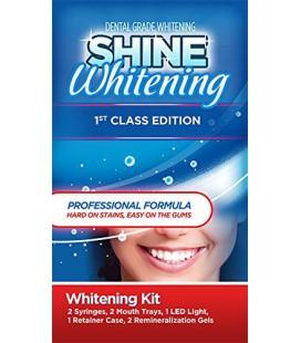 Briller Whitening - Edition 1ère classe - dents professionnels blanchissant Kit ★ (2) 5cc Seringues et Mouth Plateaux (haut et
