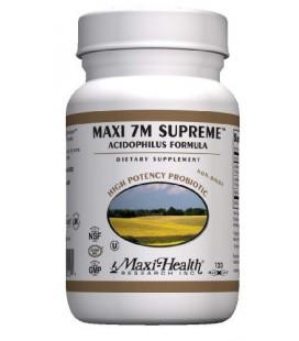 Maxi 7m Supreme Advanced Multi Probiotic Capsues, 120-Count Bottle