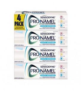 Sensodyne Pro-Émail Blanchissant doux Dentifrice Pack 4 / 6,5 oz de grande taille pour les dents sensibles
