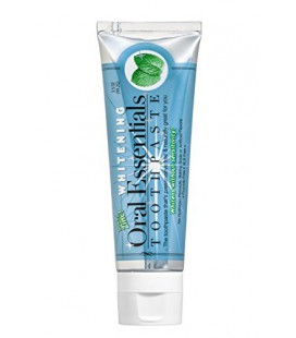 Essentials Oral Blanchiment des dents Dentifrice Dents Sensibles 3.5 Oz. Dentiste Formulé Non Peroxyde d'hydrogène, le bicarbona
