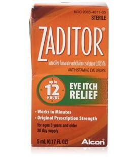 Zaditor Zaditor Eye Itch Relief Drops, 5 ml par Novartis