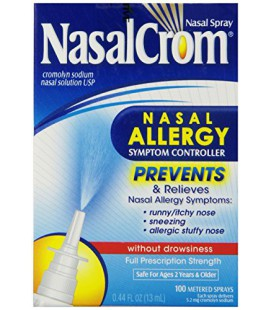 Nasalcrom Spray Nasal sans Somnolence, 0,44 fl oz (13 ml)