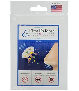 Screens First Defense nasaux, 7-Sets Per Pack