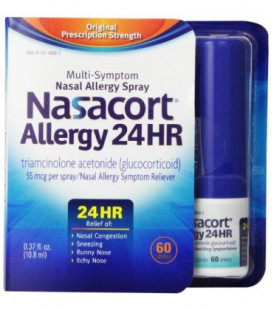 Nasacort Allergy 24 h 60 sprays, 0,37 Fluid Ounce