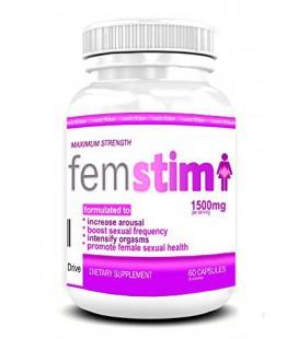 FemStim | Femme Libido Enhancer | Natural Enhancement sexuelle pour les femmes pour booster Sex Drive
