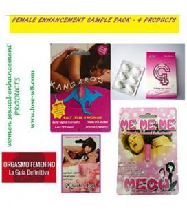 FEMME PACK AMÉLIORATION SAMPLE - 4 PRODUITS