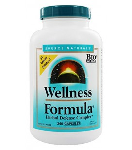 Source Naturals Wellness Capsules Formule, 240 Count