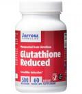 Jarrow Formulas glutathion réduit, soutient la santé du foie, 500 mg, 60 Veggie Caps