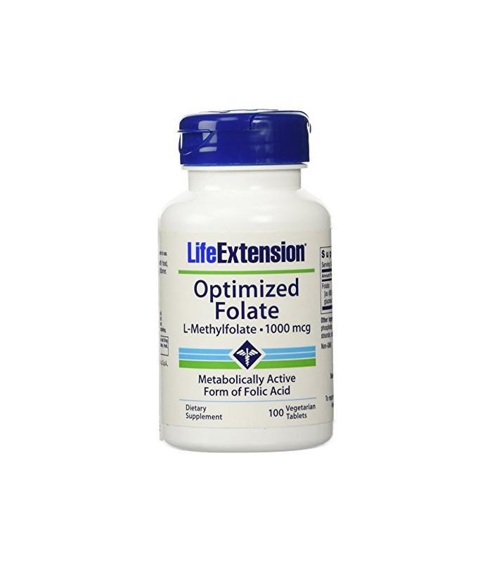 Optimized folate l methylfolate