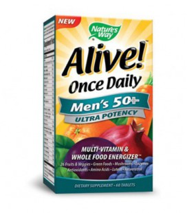 Way Alive Nature! Une fois 50+ Potency Ultra Men Daily