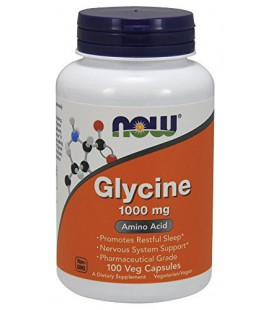Maintenant 1000mg Foods Glycine, capsules, 100-Count