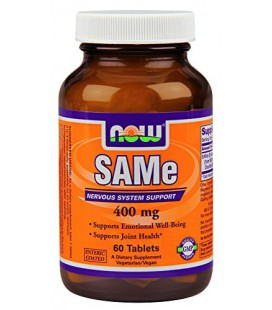 Now Foods Sam-e 400mg, comprimés, 60-Count
