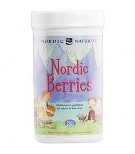 Nordic Naturals - Baies nordiques, multivitamines Friandises pour les adultes et les enfants, 200 Count
