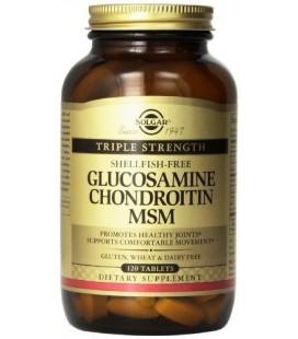Force Triple glucosamine chondroïtine MSM (Shellfish-Free) comprimés 120 comprimés