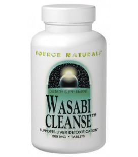 Source Naturals Wasabi Cleanse, 200mg, 60 Tablets